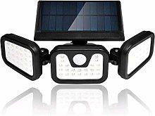 Viugreum Foco solar LED, Luz Solar Exterior, 70