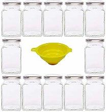 Viva Haushaltswaren - Juego de 12 tarros de