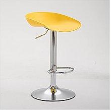 VIVIANSHOP Silla de bar de patas altas, silla de