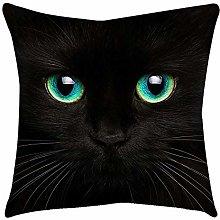 VJGOAL Moda Lindo Negro Ojos de Gato impresión en