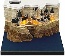 VOUNEDA Decoración para el hogar Castillo 3D DIY