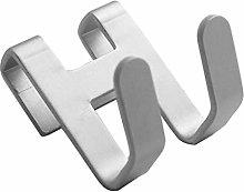 VVXXMO Gancho para puerta de metal de aluminio