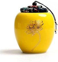 VWJFHIS Carrito de té de cerámica con Tapa a
