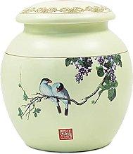 VWJFHIS Carrito de té de Porcelana hermético