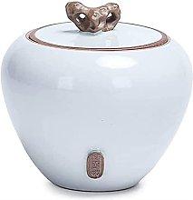 VWJFHIS Latas de té de cerámica, Tapas Selladas,