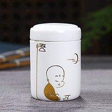 VWJFHIS Tetera de cerámica Blanca con Mini