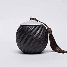 VWJFHIS Tetera de cerámica con Tapa sellada Retro