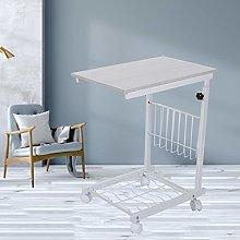 Wakects Mesa auxiliar, mesa lateral en forma de C,