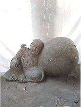 Wanda Collection - Estatua de jardín monje