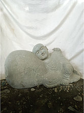 Wanda Collection - Estatua de jardín zen monje