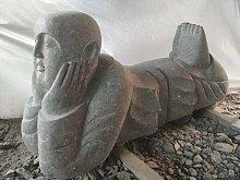 Wanda Collection - Estatua de monje shaolín de