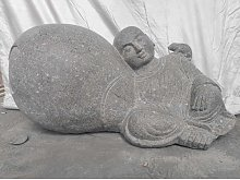 Wanda Collection - Estatua zen de piedra de