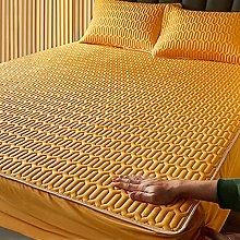 WANGTAOTAO sábanas látex Verano Juego Microfibra