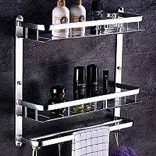 WECDS Estantes de baño de almacenamiento para