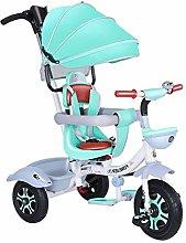 WENJIE Carrito De Bebé Triciclo Bebé Ligero