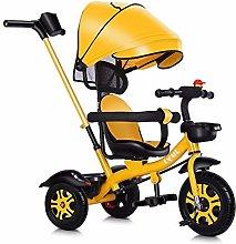 WENJIE Cochecito De Bebé Triciclo Asiento De
