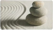 Wenko - Alfombra de baño Sand and Stone