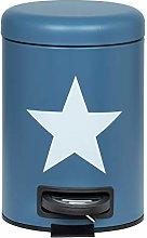 WENKO Cubo de pedal Stella azul marino - Cubo de
