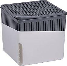 Wenko - Deshumidificador Cube 500g Gris