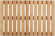 WENKO Rejilla para bañera Indoor & Outdoor Bambú