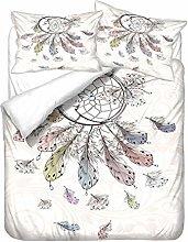 WENYA Funda nórdica Atrapasueños Pluma Mariposa,