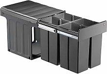 WESCO 857711-72 Cubo de basura, plástico
