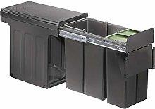 WESCO 885301-72 Cubo de basura, plástico
