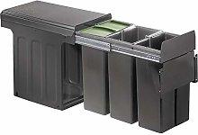 WESCO 885302-72 Cubo de basura, plástico