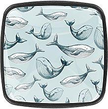 Whale PatternCrystal Perillas de cristal para