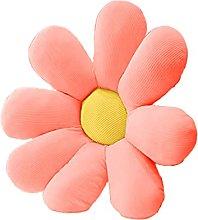 Wharick Almohada de piso de flores para el hogar