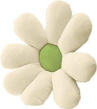 Wharick Almohada de suelo de flores para el hogar,