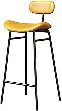 WHOJA Taburete de Bar 75cm Silla alta de mostrador