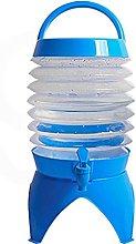 WHYWJ Recipiente de Agua Plegable, Cubo de Agua