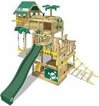 WICKEY Parque infantil de madera Smart Castaway