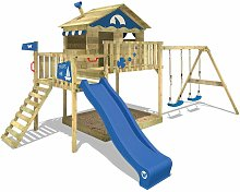 WICKEY Parque infantil de madera Smart Coast con