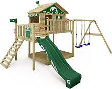 WICKEY Parque infantil de madera Smart Coast con