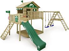 WICKEY Parque infantil de madera Smart Ocean con