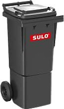 Wilai GmbH Cubo de Basura 2 Ruedas, contenedor a