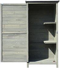 Wiltec - Armario para jardín de madera