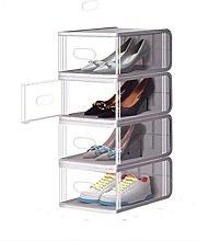 WINON Zapatero Caja de Zapatos de 8 Pack, Caja de
