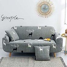 WINS Fundas para Sofa elasticas 4 plazas Funda