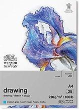 Winsor & Newton Bloc Dibujo, Blanco Natural, DIN A4