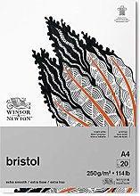 Winsor & Newton Bloc Dibujo Bristol, Color Blanco