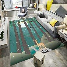 WJTHH Alfombra moderna tradicional alfombra grande