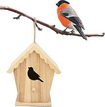 WNSC Birdhouse, pajarera de artesanía Duradera