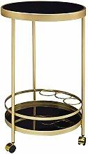 Wohnling Camarera redonda de diseño, diámetro de