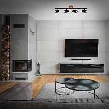 Wood & Style 2920 foco de techo, 4 luces