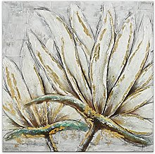 World Art TWAS440X1 Flores Pintura Moderno,