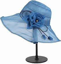 WOYBAOF Los Sombreros de Seda estacionales de