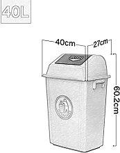 WQERLC Cubo de Basura de Cocina, Cubo de Basura,